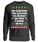 Hochwertiger Unisex Pullover - GLÜHWEINZEIT - Bayerisch · Boarisch · bayrisch · Shirt · lustig · Spruch · Pulli · Jacke · Hoodie · T-Shirt · Geschenk