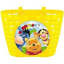 "PREMIUM Fahrradkorb für Kinder ""Winnie Puuh"" Fahrrad Korb mit Disney Motiv - Winnie the Pooh Pu der Bär"