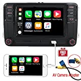 6,5 cm Auto Stereo-Radio CarPlay Mirrorlink Bluetooth für VW Golf Caddy Touran CC