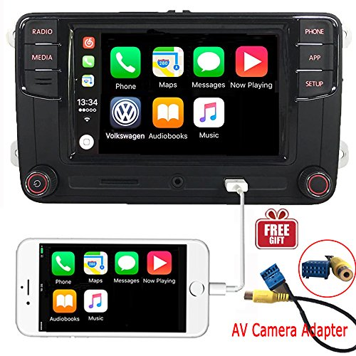 OEM 6,5 'coche Radio estéreo CarPlay MirrorLink Bluetooth para VW Golf, Caddy, Touran, CC