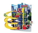Grandi Giochi GG51900 - Garage 4 Piani con 3 Auto, Die Cast