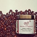BODY SCRUB with Coffee Beans & Dead Sea Salt