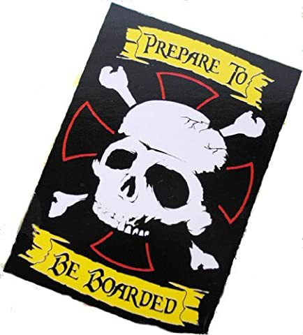 Pirate Skull & Crossbone Jolly Roger 40 x 28 Flag by Jakks Pacific