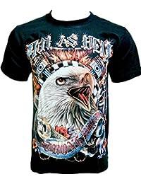 Rock Chang T-Shirt * Hell As Hell * Glow In The Dark * Noir GR532
