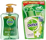 #6: Dettol Liquid Daily Clean Hand Wash - 200 ml (Gold) with Free Dettol Hand Wash - 185 ml (Original)