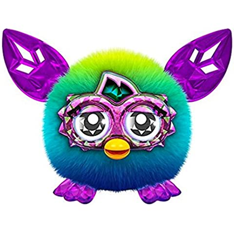 Furby Furblings Criatura Especial Característica Juguete De Peluche Suave (Verde/Azul)