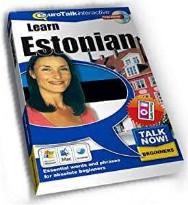 Talk Now Learn Estonian: Essential Words and Phrases for Absolute Beginners (PC/Mac)