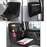 Aufbewahrungstasche /  Klapptisch / DVD-/ Laptop-Halterung / Reise-Tablett, für den Auto-Rücksitz,Größe geöffnet ca.38cm x 31cm x 29,5cm