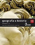 Geografía e historia. 3 ESO. Savia. Trimestres  - Pack de 3 libros - 9788467583410