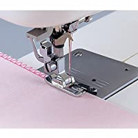 Overlock Overedge Overcasting Sewing Machine Presser Rolled Hem Foot Tool