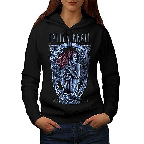 Fallen Angel Art Fashion Women L Hoodie | Wellcoda