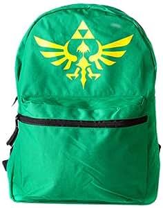 Sac à dos 'The Legend of Zelda' - noir/vert