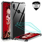 LeYi for Huawei Y6 2019/Honor 8A Case with Tempered Glass