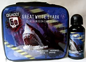 Deadly 60 'Great White Shark' Lunch Bag and Sports Bottle