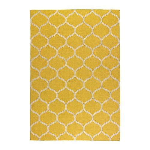 IKEA-STOCKHOLM-Rug-flatwoven-patrn-de-red-amarillo-170x240-cm