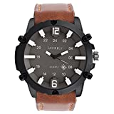 Laurels Analogue Brown Dial Men'S Watch ...