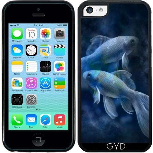 SilikonHülle für Iphone 5C - Blaue Fische by WonderfulDreamPicture (5c Fall Coral)