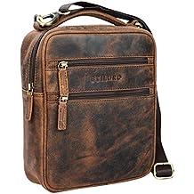 9cbaa5aced89de STILORD 'Mats' Borsello uomo in pelle vintage Piccola borsa a tracolla per  Tablet 9