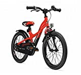 S'COOL Kinder XXlite 18-3 Kinderfahrrad, Red/Black Matt, 18 Zoll