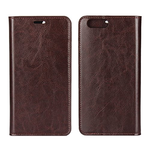 Oppo R11 Plus Case,Oppo R11 Plus Case,Covers for Premium PU Leather Wallet Snap Case Covers for Covers for Flip Cover for Oppo R11 Plus Dark Brown -