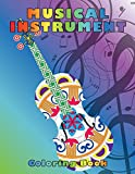 Musical Instruments Best Deals - Musical Instrument Coloring Book