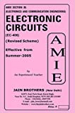 AMIE - Section (B) Electronic Circuits ( EC - 406) Electronics and Communication Engineering Solved and Unsolved Paper