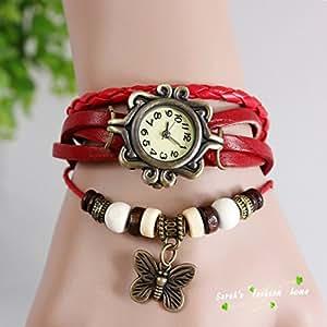 Mira Red Watch Bracelet Girl