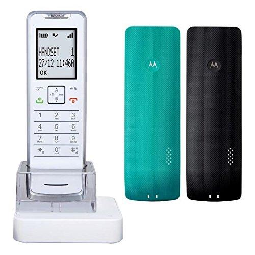 Motorola MOT31IT61XB - Teléfono inalámbrico,