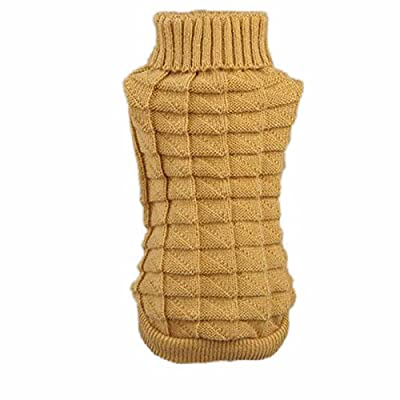 Dogs/Cats Sweaters, Transer® Pets Vests Sweatshirts with Woolen Knitted Clothes Dogs Outwears T-shirt Puppy Coats for Dress up Doggy Costumes Pup/Kitten Knit Apparel