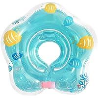 QWER Anillo De NatacióN para Bebé Inflable Boya Salvavidas Neck Circle BebéS Y NiñOs PequeñOs CíRculo De Axilas