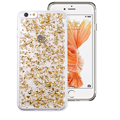 iphone-se-fundaiphone-5s-funda-ranrou-luxury-bling-glitter-sparkle-gold-foil-embedded-transparent-fl