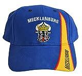 Flaggenfritze Kappe Motiv Deutschland Mecklenburg alt Fahne, fan - Cap mit alte mecklenburgischer Fahne