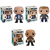Pop! Movies: Fast & Furious Dom Toretto, Luke Hobbs and Brian O' Connor Vinyl Figures! Set of 3 by Fast and Furious