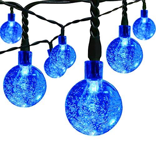 Preisvergleich Produktbild Solar Outdoor Lichterkette ICOCO 6 Meter 30 LEDs Wassertropfen Solarbetrieben Lichterkette Wasserfest Weihnachten Dekoration für Garten, Terrasse, Hof, Haus, Weihnachtsbaum, Feiern