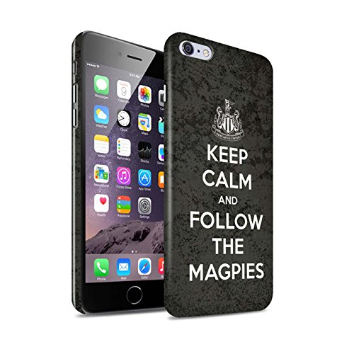 Offiziell Newcastle United FC Hülle / Glanz Snap-On Case für Apple iPhone 6S+/Plus / Howay Jungs Muster / NUFC Keep Calm Kollektion Folgen/Magpies