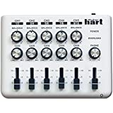 LOOP MIXER - Mixer audio/DJ alimentato con 5 canali (5 ingressi stereo da 3,5 mm o 10 mono da 6,35 mm) e 3 uscite
