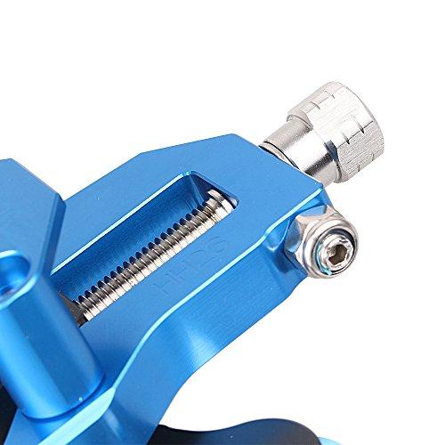 Chaîne gzyf CNC réglables tendeurs avec bobine pour Yamaha YZF R12015+ Bleu