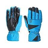 Salomon Gloves Force Herren Handschuhe, M XL Schwarz (Hawaiian Surf/Black)