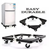 #9: House of Quirk Multifunctional Trolley/wheels Moveable Special Base For Domestic Appliances Tumble Dryers Cookers Fridges & Freezers (56x56cm)