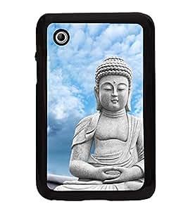 Buddha 2D Hard Polycarbonate Designer Back Case Cover for Samsung Galaxy Tab 2 :: Samsung Galaxy Tab 2 P3100