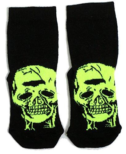 Boys/Girls Spooky Skull Halloween Socks