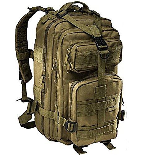 Militär-Rucksack inklusive Trinkblase Braun - hautfarben