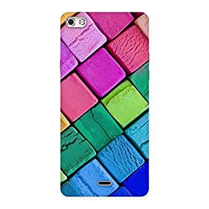 Gorgeous Block Colors Print Back Case Cover for Micromax Canvas Silver 5