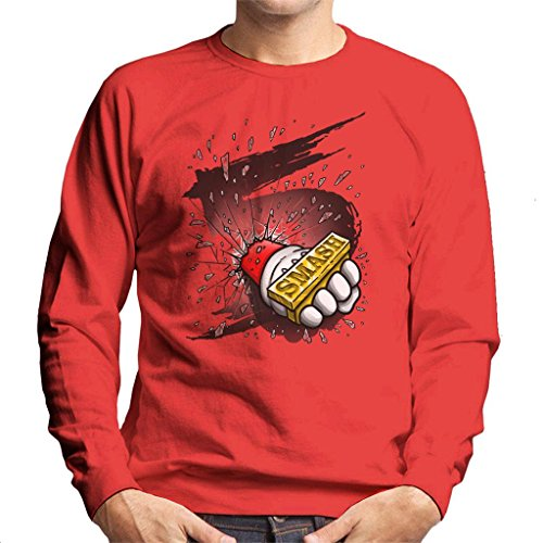 Cloud City 7 Super Smash Bros 5 Knuckle Duster Men's Sweatshirt