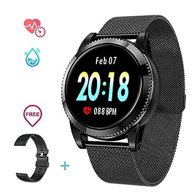 GOKOO Smartwatch Deporte de Hombre Reloj Inteligente Outdoor Impermeable IP67 Reloj de Fitness Monitores Pulseras de Actividad con Pulsómetros Podómetro Monitor de Sueño
