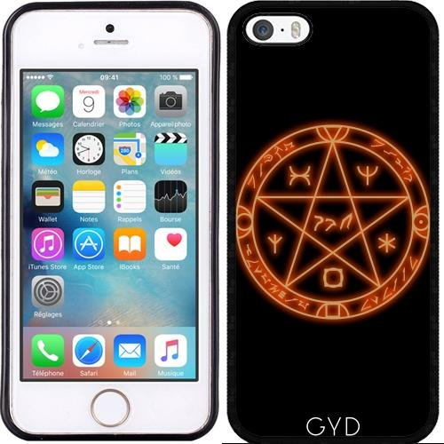 Coque pour Iphone 6 (4,7 '') - Cercle Magique by hera56 Silicone