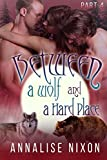 Between a Wolf and a Hard Place Part 4: (BBW Shifter Menage) (English Edition)