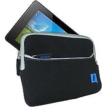 """iGadgitz U3050 7"""" Sleeve case Negro funda para tablet - fundas para tablets (17,8 cm (7""""), Sleeve case, Negro, Neopreno, Acer, Iconia One 7 B1-730HD)"""