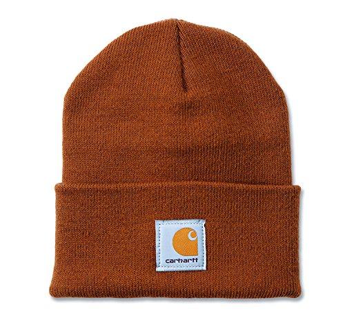 Carhartt A18 Watch Hat - Beanie - Mütze, Carhartt Braun (Watch Herren Carhartt Mütze)