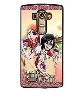Printvisa 2D Printed Girly Designer back case cover for LG G4- D4148